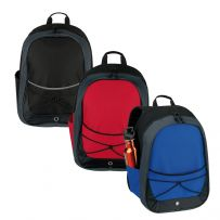 Rucksack with Elastic Detail
